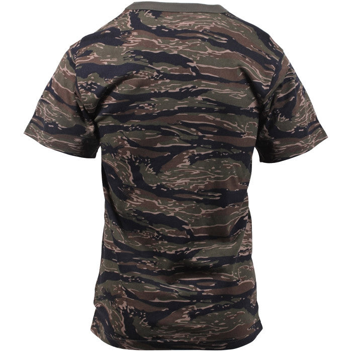 Tiger Stripe Camouflage - Military T-Shirt