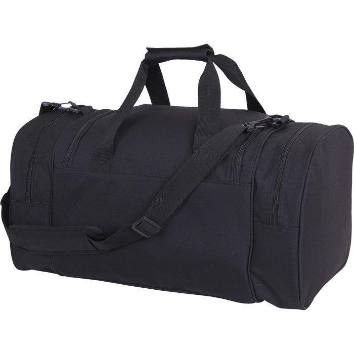Black - Sport Duffle Bag 21 in.