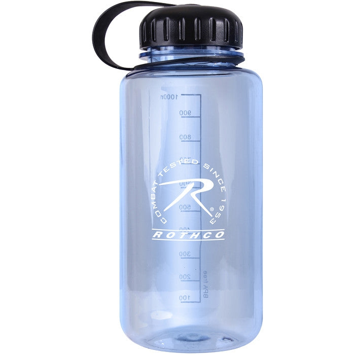 Clear - BPA Free Plastic Water Bottle
