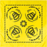 Yellow - DON'T TREAD ON ME Bandana