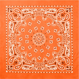 Orange - Trainmen Bandana 22 in. x 22 in.