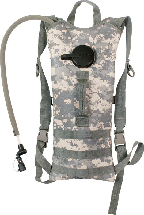 ACU Digital Camouflage - Tactical MOLLE Backstrap 3-Liter Hydration System