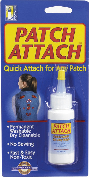Patch Attach Glue Permanent Patch Adhesive - USA Made