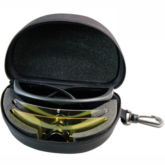 Black - Tactical Interchangeable ANSI Rated Goggle Kit