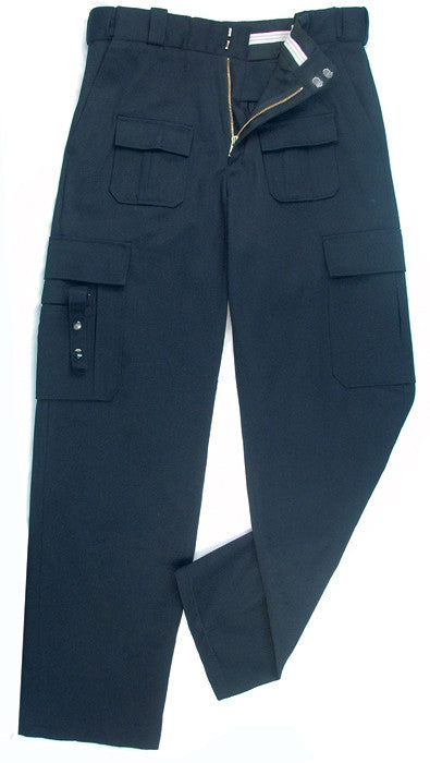 Midnite Blue - Tactical Pants with Stain Resistant Coating - Polyester Cotton Twill