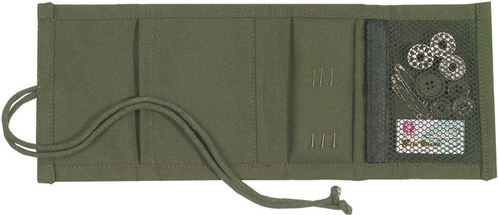 Olive Drab - Sewing Kit