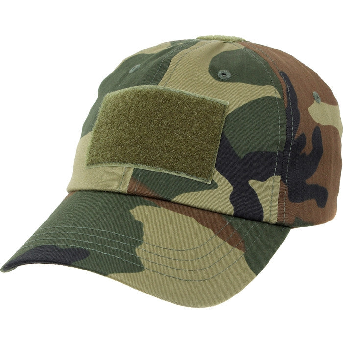 Woodland Camouflage - Military Adjustable Tactical Operator Cap