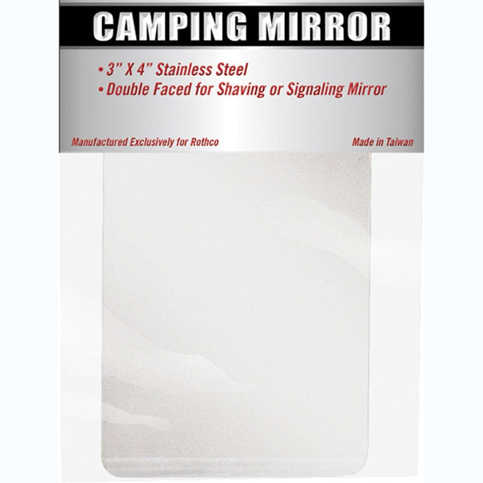 Clear - Campers Pocket Mirror 3 in. x 4 in.