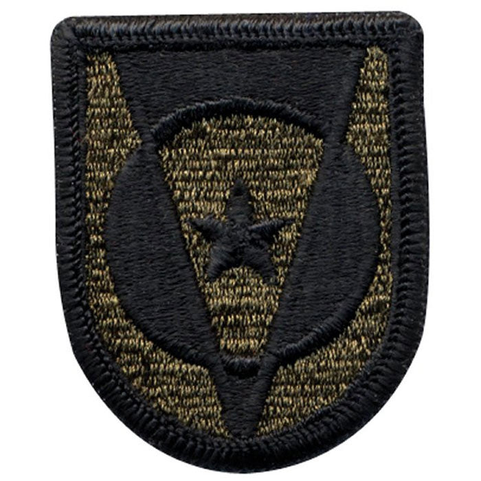 Subdued - US Army 5th Transportaion Command Sew On Patch with Emblem