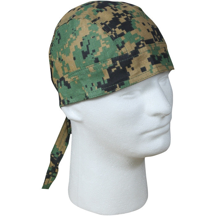 Digital Woodland Camouflage - Military Headwrap