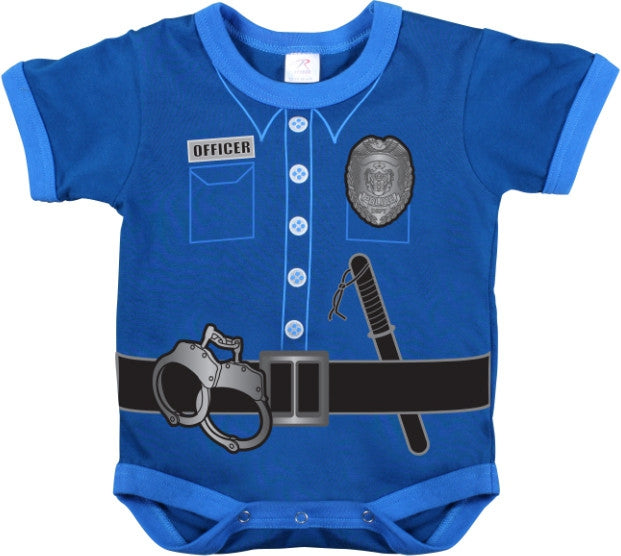 Navy Blue - Police Uniform Onesie