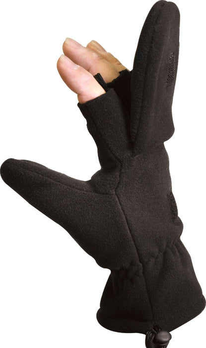 Black - Military GI Style Sniper Gloves