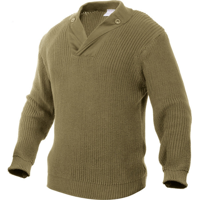 Khaki - WWII Vintage Mechanics Sweater