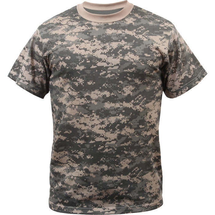 ACU Digital Camouflage - Kids Military T-Shirt