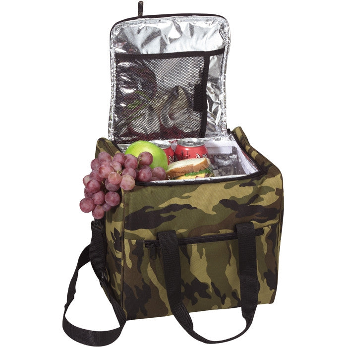 Woodland Camouflage - Large Insulated Lunch Bag