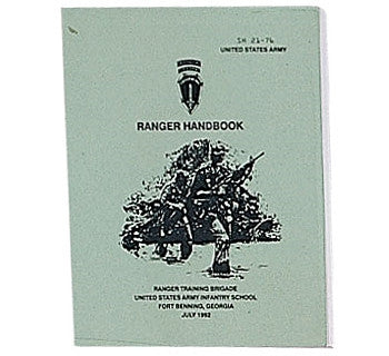 Official US Army Ranger Handbook SH 21-76