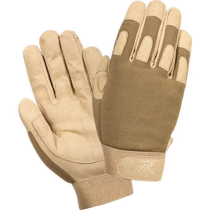 Coyote Brown - Lightweight All Purpose Tactical Duty Gloves