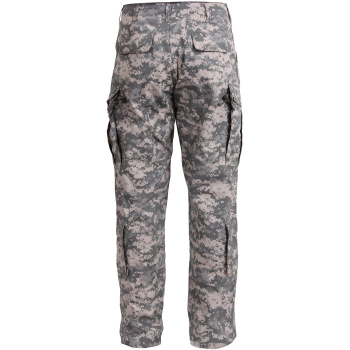 ACU Digital Camouflage - Military ACU Pants - Polyester Cotton Ripstop