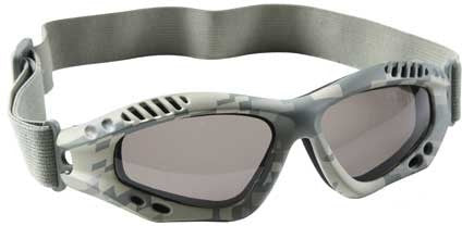 ACU Digital Camouflage - VanTec Anti-Scratch Tactical Goggles