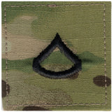 Multicam Camouflage - Military Private 1st Class Insignia Patch PFC