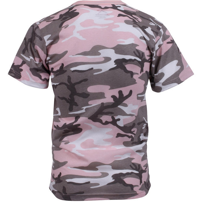 Subdued Pink Camouflage - T-Shirt