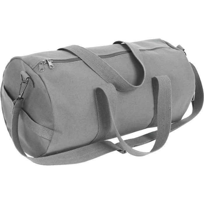 Grey - Military Heavy Duty Medium Shoulder Bag