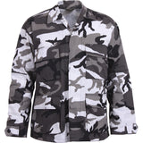 City Camouflage - Military BDU Shirt - Polyester Cotton Twill