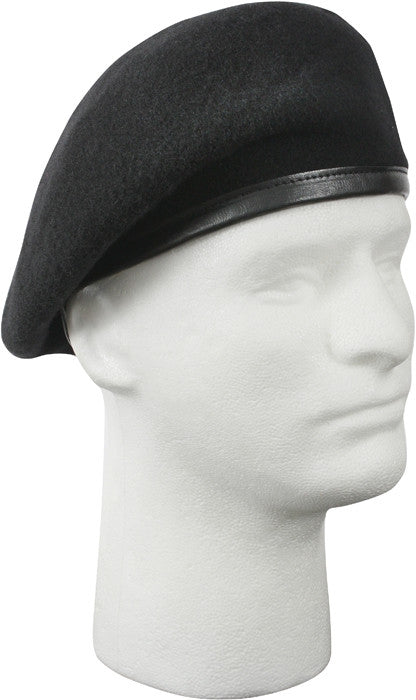 Black - Inspection Ready Military Beret