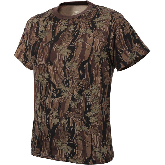 Smokey Branch Camouflage - Kids Military T-Shirt