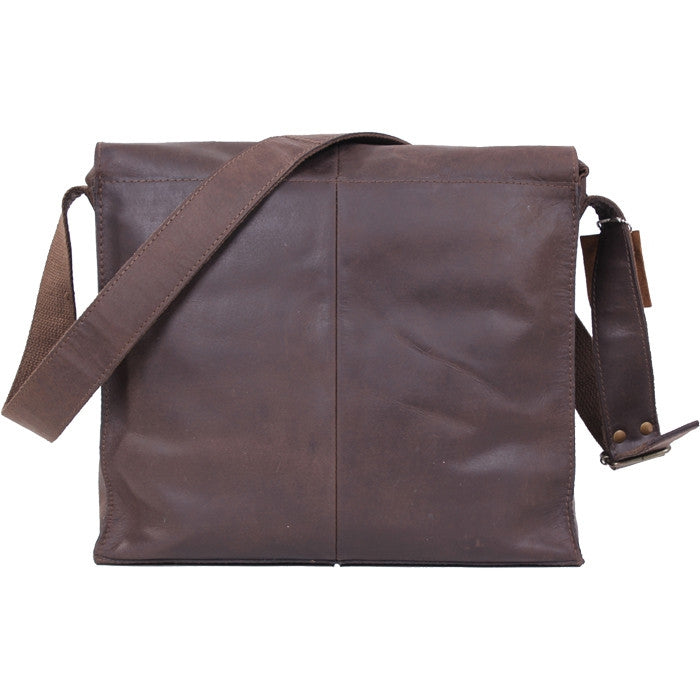 Brown - Leather Medic Sholuder Bag