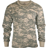 ACU Digital Camouflage - Kids Military Long Sleeve T-Shirt