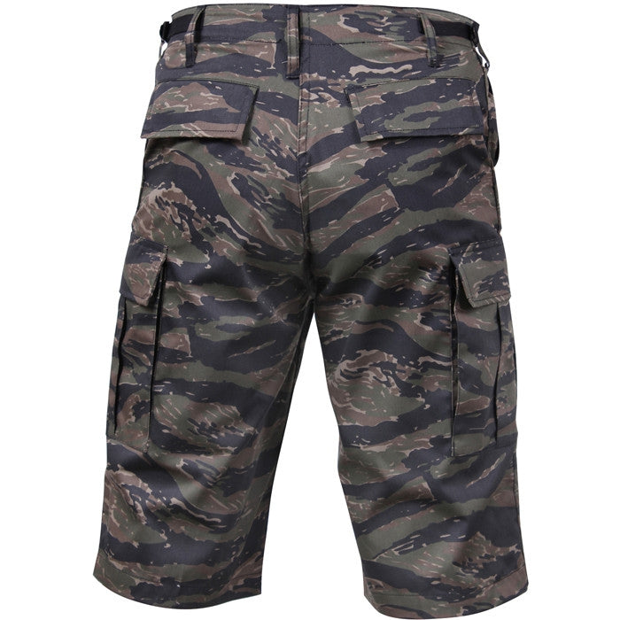 Tiger Stripe Camouflage - Long Length Camo BDU Shorts