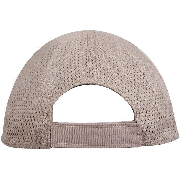 Khaki - Adjustable Mesh Back Tactical Cap