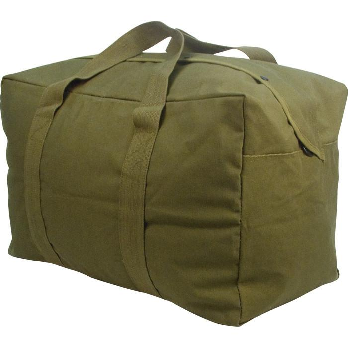 Olive Drab - Military Parachute Traveling Cargo Bag