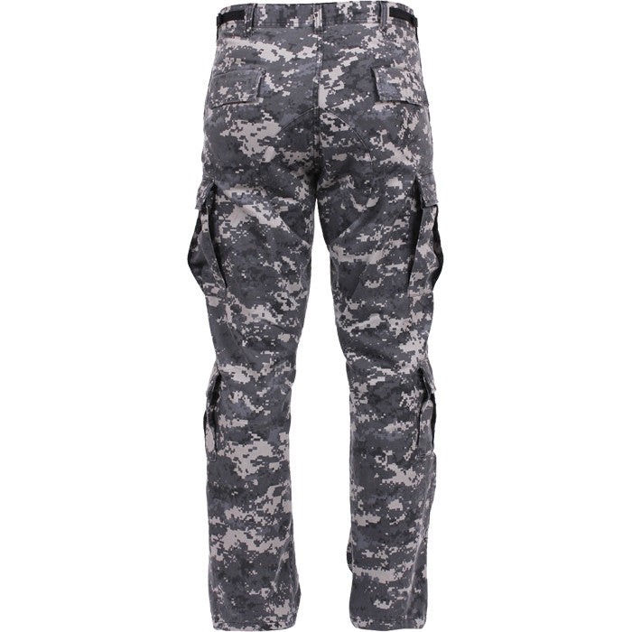 Subdued Urban Digital Camouflage - Military Vintage Paratrooper Fatigues
