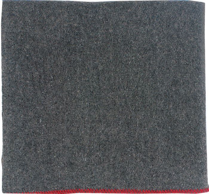 Grey - Warm Rescue Blanket 60 in. x 80 in. - Wool