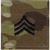 Multicam Camouflage - Military Sergeant Insignia Patch SGT