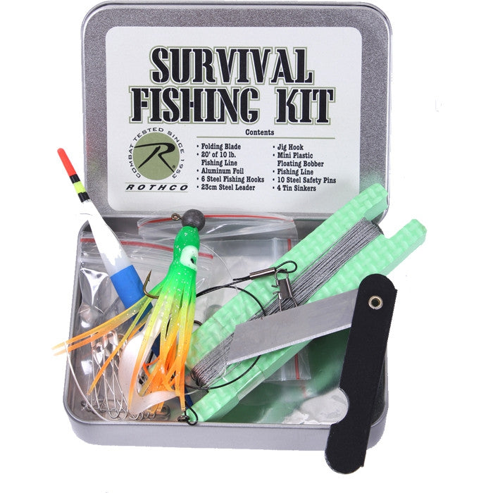 Tactical Survival Outdoor Fishing Kit