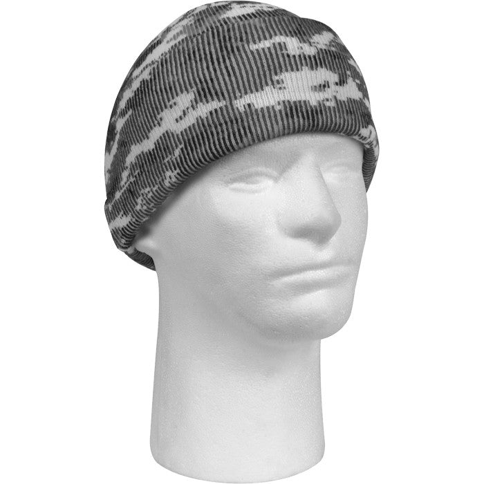 Digital City Camouflage - Military Deluxe Watch Cap (Acrylic)