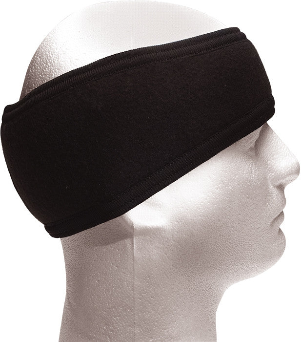 Black - Cold Weather Ear Protectors Headband