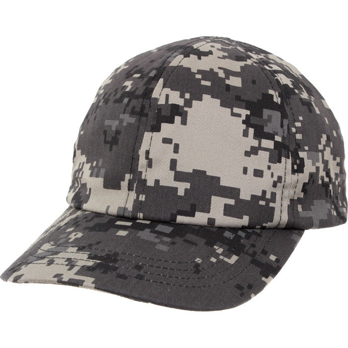 Subdued Urban Digital Camouflage - Kids Military Low Profile Adjustable Baseball Cap