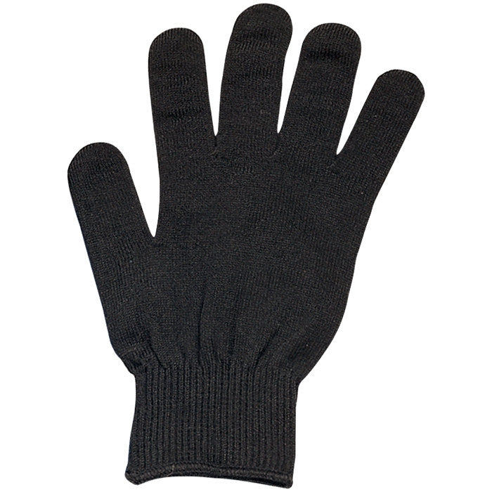 Black - Genuine GI Glove Liners - Polypropylene USA Made