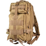 Coyote Brown - Military MOLLE Compatible Medium Transport Pack