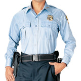 Light Blue - Official Law Enforcement Uniform Shirt Long Sleeve