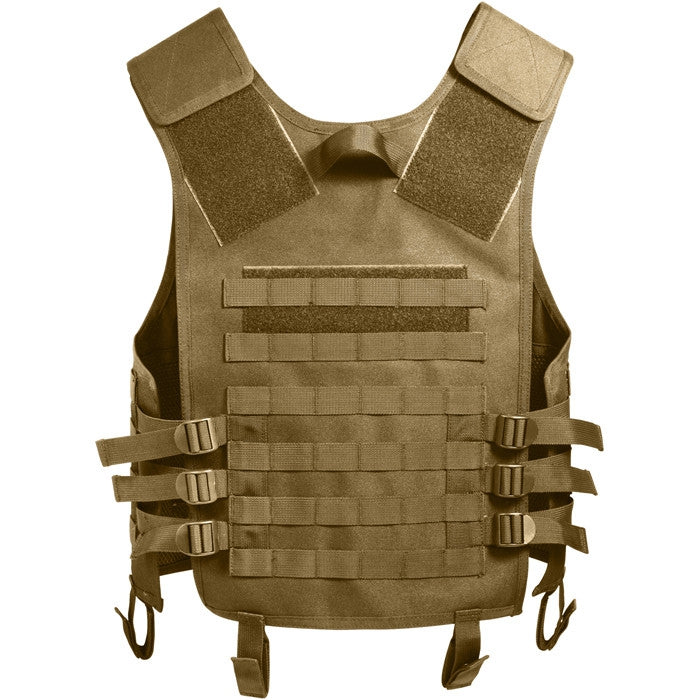 Coyote Brown - Advanced MOLLE Compatible Tactical Vest