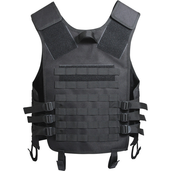Black - Advanced MOLLE Compatible Tactical Vest