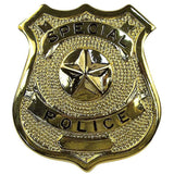 Gold - SPECIAL POLICE Pin-On Badge