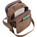 Brown - Daily Organizer and Travel Shoulder Bag