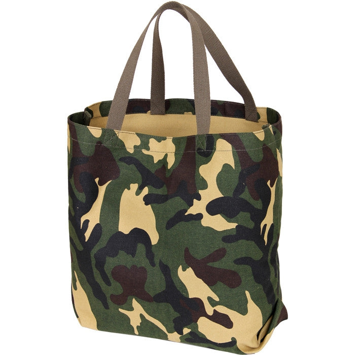 Woodland Camouflage - GI Style Lightweight Tote Bag