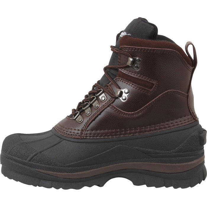 Waterproof Cold Weather Hiking Boots Brown
